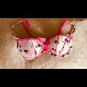 Victoria's Secret Intimates & Sleepwear - Chocolate Covered Cherry Victoria's Secret Bra 32C